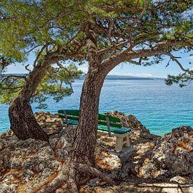 Brela, Makarska Riviera, Croatie sur Peter Eckert