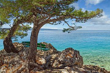 Brela, Makarska Riviera, Croatie