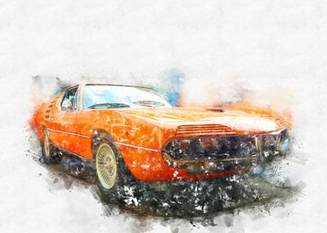 Alfa Romeo Montreal von Theodor Decker