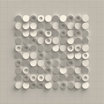 Cirkeltegels van Jörg Hausmann