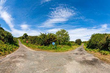 Einbahnverkehr auf der Halbinsel bei Port l'Epine von Evert Jan Luchies