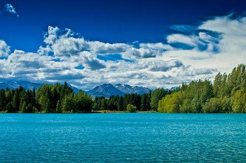 Lake Ruataniwha - Nieuw Zeeland van