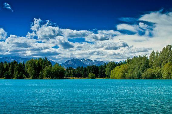 Lake Ruataniwha - Nieuw Zeeland van Ricardo Bouman   Fotografie