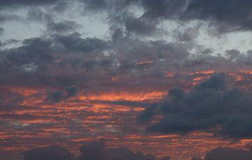 pink grey sky von M K
