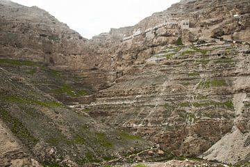 Monastère de la tentation sur le rocher, un lieu où selon la légende le diable a tenté le Christ, Pi sur Michael Semenov