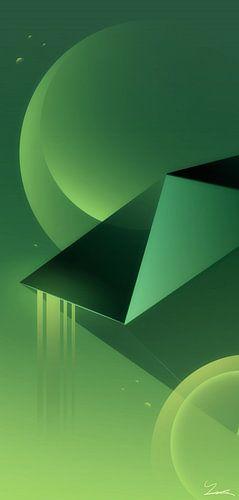 Abstracte Ruimte van Ilona Iske