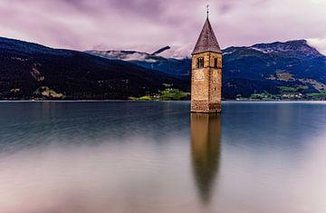 Lac de Reschen sur Jens Sessler