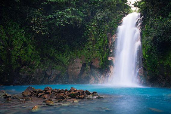 Rio Celeste (Costa Rica) van Martijn Smeets