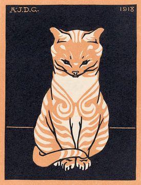 Zittende kat, Julie de Graag
