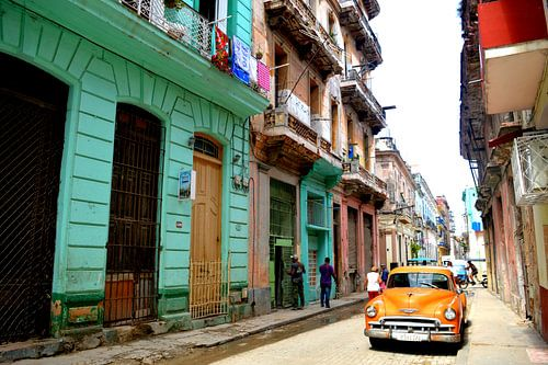 Authentische Straßenszene Havanna von Zoe Vondenhoff
