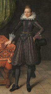 Portret van Peter Courten, Salomon Mesdach