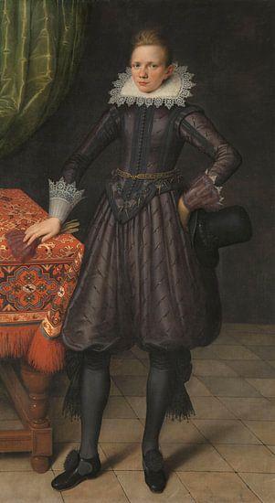 Portret van Peter Courten, Salomon Mesdach van Meesterlijcke Meesters