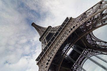 Eiffeltoren in groothoek II van Sean Vos