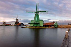 Windmill Zaanse Schans  van Ben van Boom