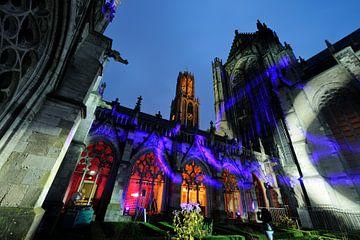 Der Pandhof im Domkerk in Utrecht während der Museumsnacht von Donker Utrecht
