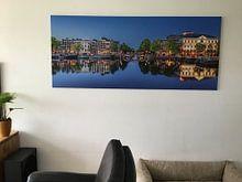 Photo de nos clients: Panorama Amstel et Théâtre Carré Amsterdam sur Thea.Photo, sur toile