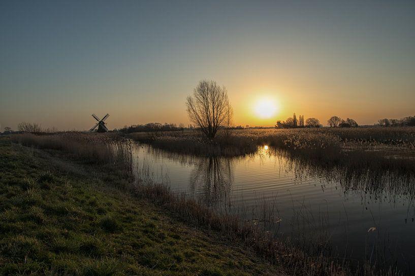 Zonsopkomst Noorddijk van Martin Smit