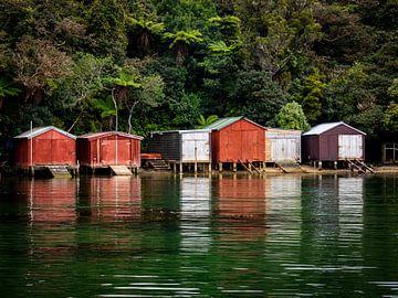 Bootshäuser von Rik Pijnenburg