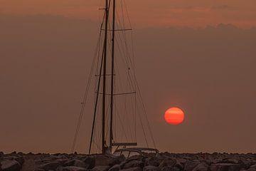 ochtendvuurbal van Marc-Sven Kirsch
