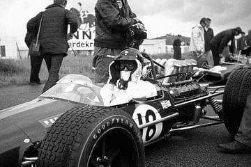Dan Gurney 1968 Grand Prix Zandvoort sur Harry Hadders