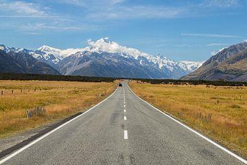 Mount Cook, Nieuw-Zeeland von Willem Vernes