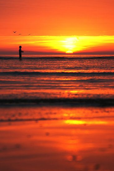 young fisherman van Dirk van Egmond