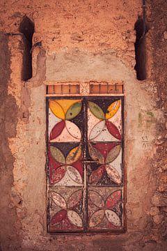 Une porte colorée sur Studio Daniell