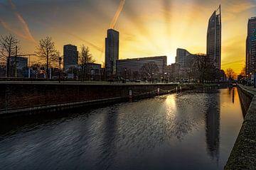 Den Haag Sonnenaufgang von Digikhmer