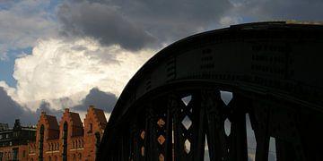 Dunkle Wolken von Marijke Kenkhuis