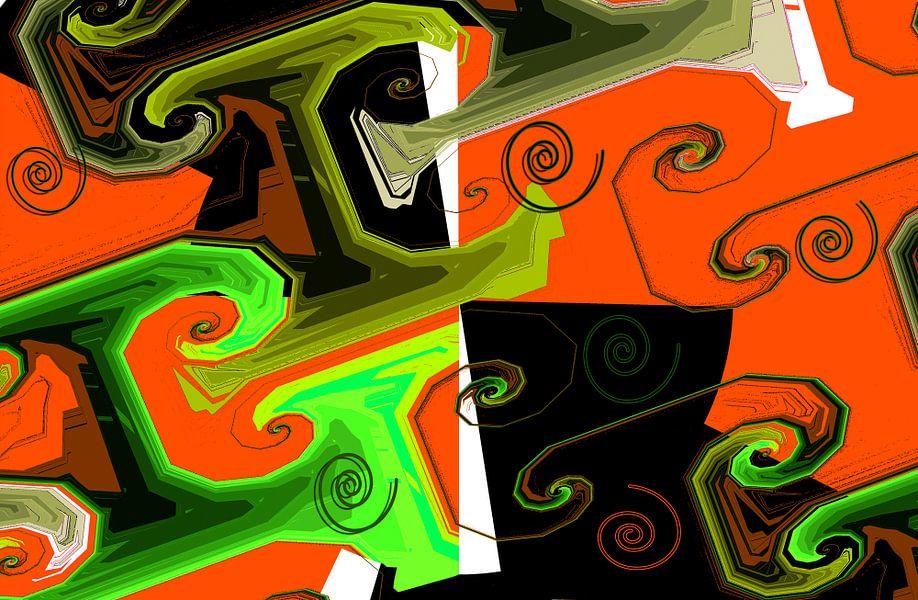 Abstrakte spiralen2