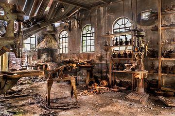 Urbex verlaten werkplaats van Harmen Goedhart