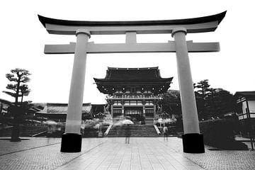 Fushimi Inari tempel van Maaike Van Den Meersschaut