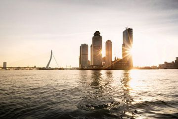 Skyline van Rotterdam van Claire Droppert