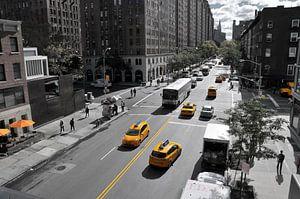 Yellow Big Apple Crossing