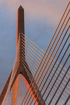 Leonard P. Zakim Gedächtnisbrücke, Boston von Henk Meijer Photography