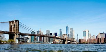NY Brooklyn Bridge Manhattan color