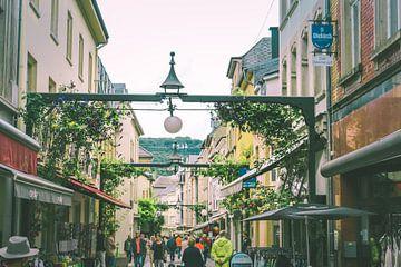 De stad  Echternach, Luxemburg van Stijn Dings
