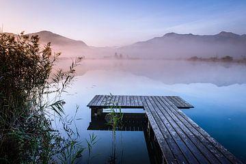 Sonnenaufgang am See von Michael Blankennagel