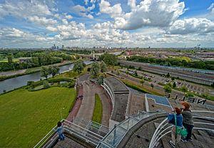 Van Nelle Fabriek / Tea Room View / Rotterdam van