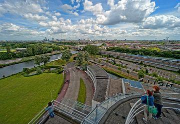 Van Nelle Fabriek / Tea Room View / Rotterdam sur Rob de Voogd / zzapback