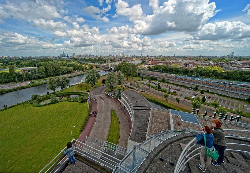 Van Nelle Fabriek / Tea Room View / Rotterdam van Rob de Voogd / zzapback