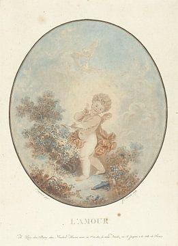Liebe, Jean François Janinet, 1777 von Atelier Liesjes