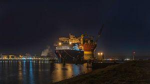 Olieplatform in Rotterdam