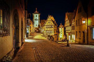 Plönlein - Rothenburg ob der Tauber van Sabine Wagner