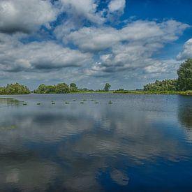 Landschapsfoto natuurontwikkeling Millingerwaard  van Waterpieper Fotografie