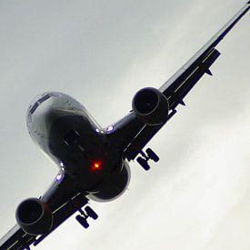 vliegtuig op kantelen van Norbert Sülzner