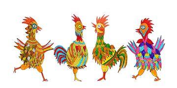 Hühner von Inge Knol