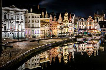 Gent, middeleeuwse reflecties. van Kees de Ruijter