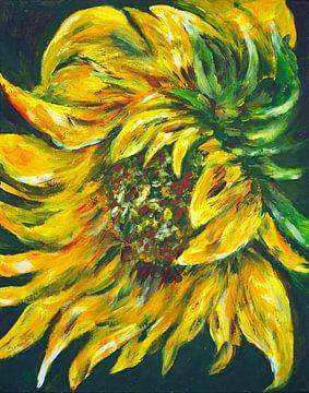 Sonnenblume. von Ineke de Rijk