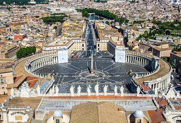 Vaticaan plein in Rome van Ivo de Rooij